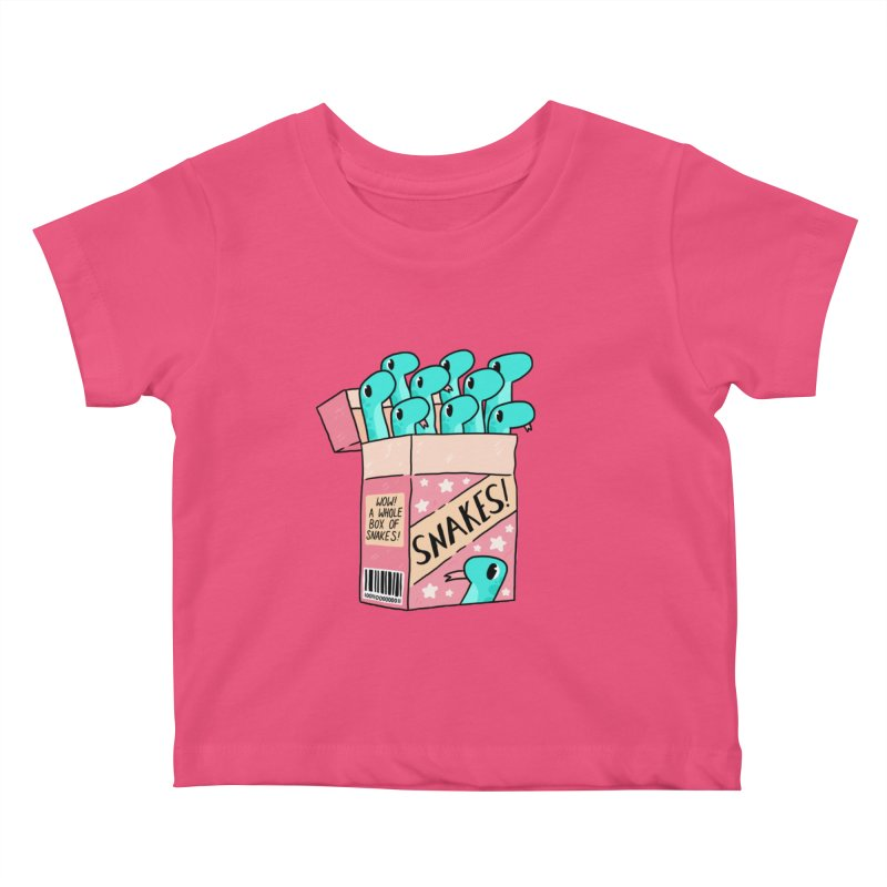 SNAKES! Kids Baby T-Shirt by GOOD AND NICE SHIRTS