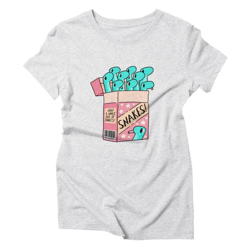 SNAKES! Women's T-Shirt by GOOD AND NICE SHIRTS