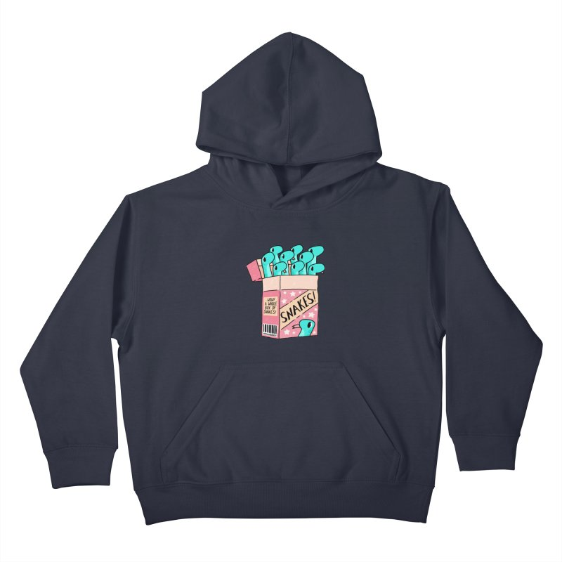 SNAKES! Kids Pullover Hoody by GOOD AND NICE SHIRTS