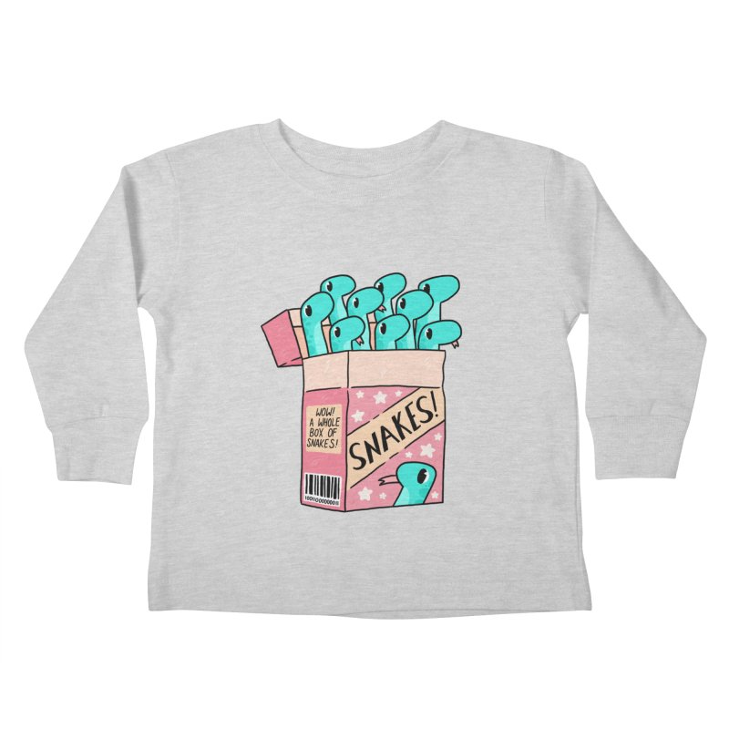 SNAKES! Kids Toddler Longsleeve T-Shirt by GOOD AND NICE SHIRTS