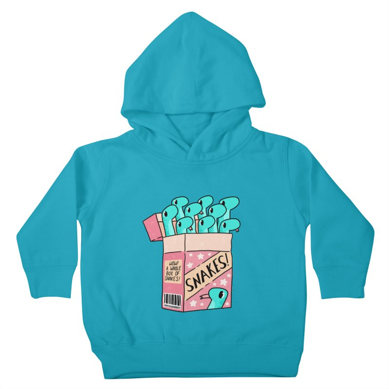 SNAKES! Kids Toddler Pullover Hoody by GOOD AND NICE SHIRTS