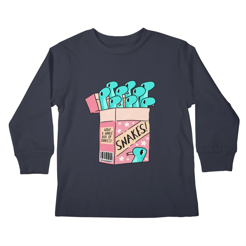 SNAKES! Kids Longsleeve T-Shirt by GOOD AND NICE SHIRTS