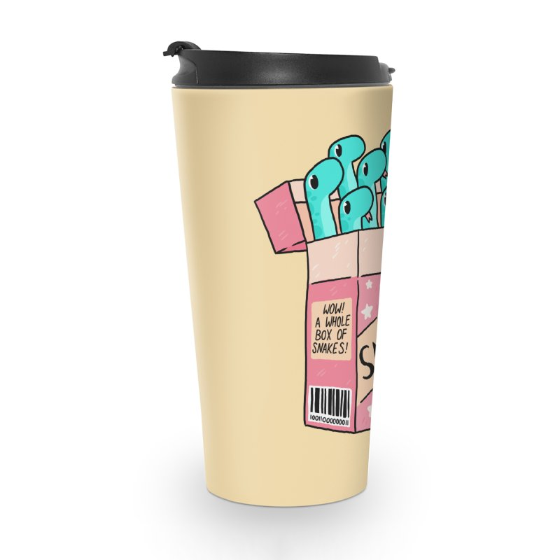 SNAKES! Accessories Travel Mug by GOOD AND NICE SHIRTS