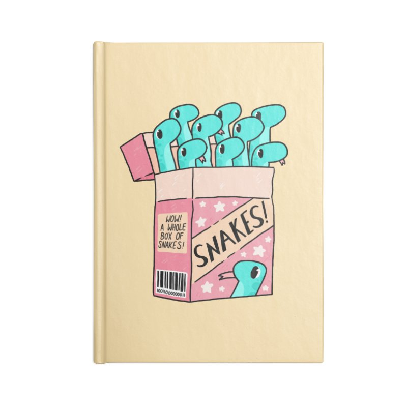 SNAKES! Accessories Lined Journal Notebook by GOOD AND NICE SHIRTS
