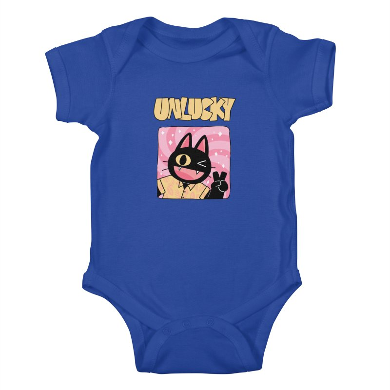 UNLUCKY Kids Baby Bodysuit by GOOD AND NICE SHIRTS