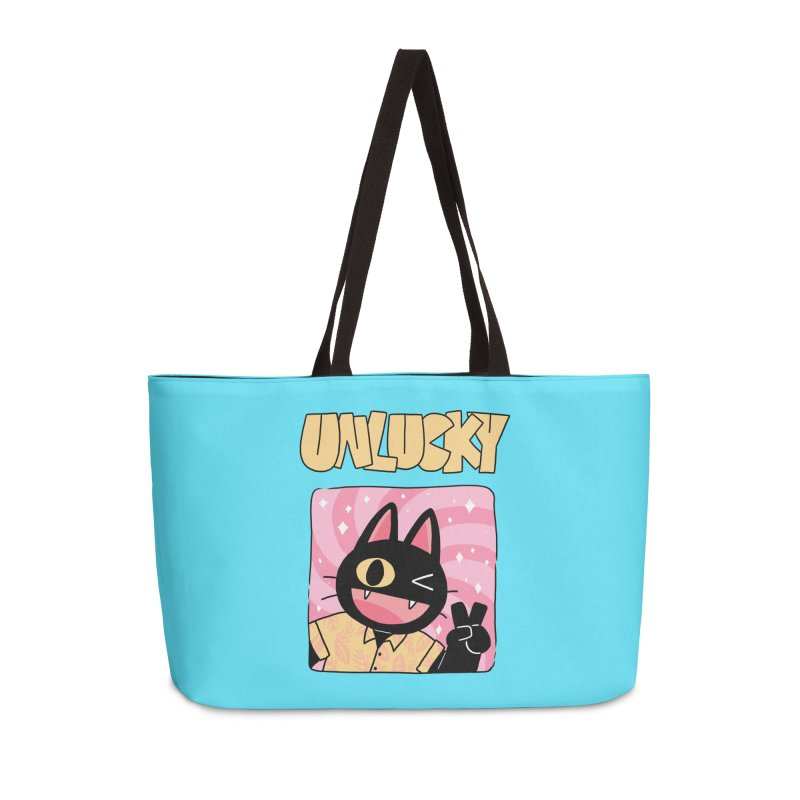 UNLUCKY Accessories Weekender Bag Bag by GOOD AND NICE SHIRTS