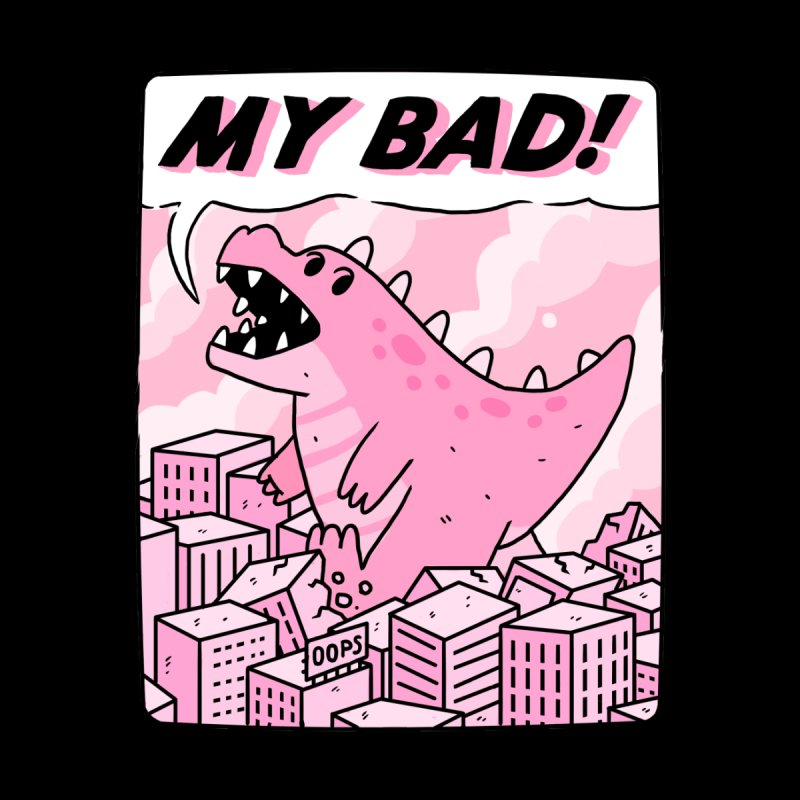 MY BAD! Women's T-Shirt by GOOD AND NICE SHIRTS
