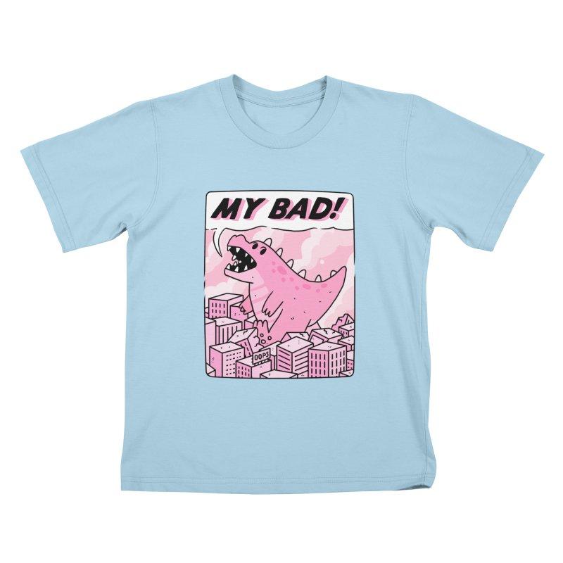 MY BAD! Kids T-Shirt by GOOD AND NICE SHIRTS