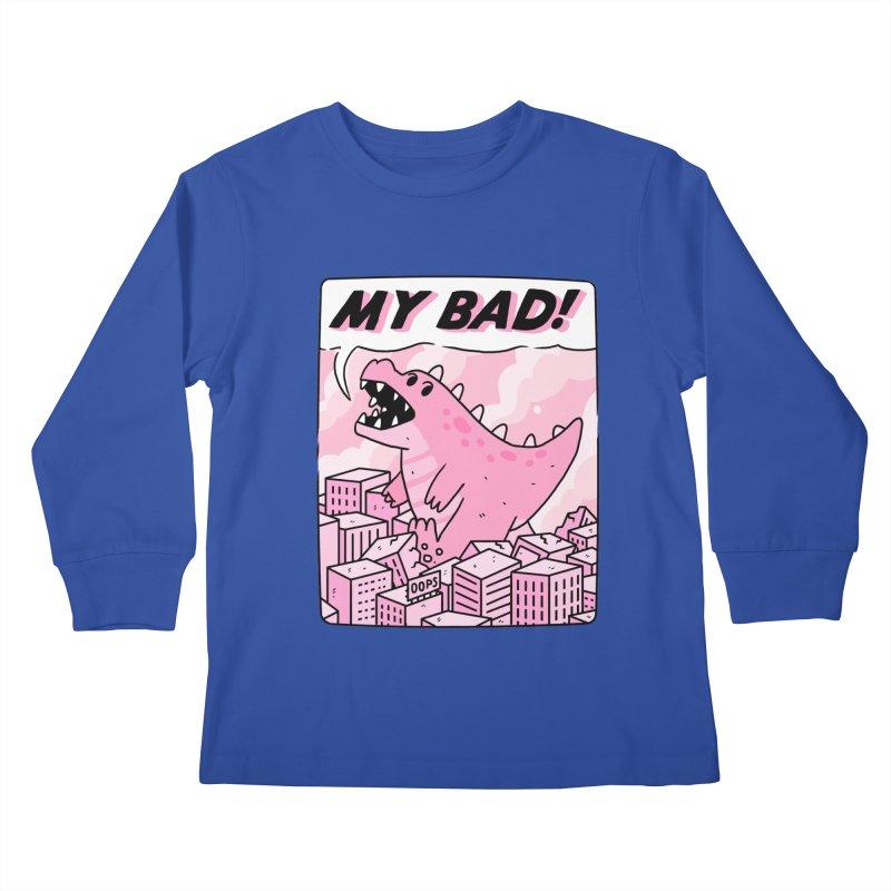 MY BAD! Kids Longsleeve T-Shirt by GOOD AND NICE SHIRTS