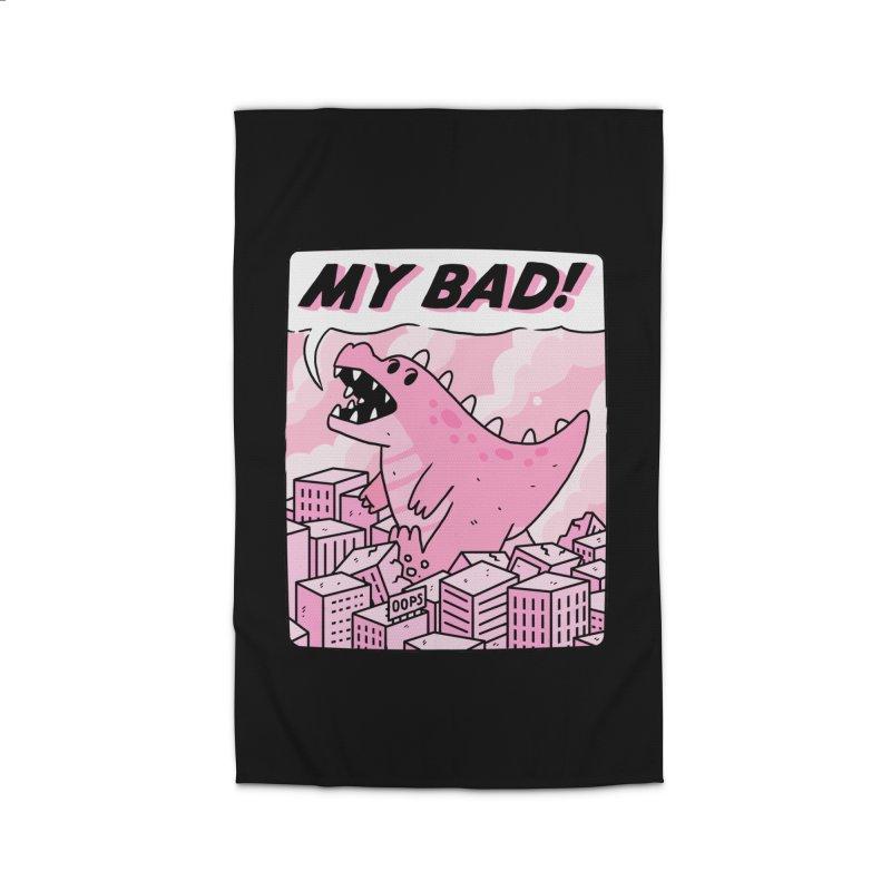 MY BAD! Home Rug by GOOD AND NICE SHIRTS