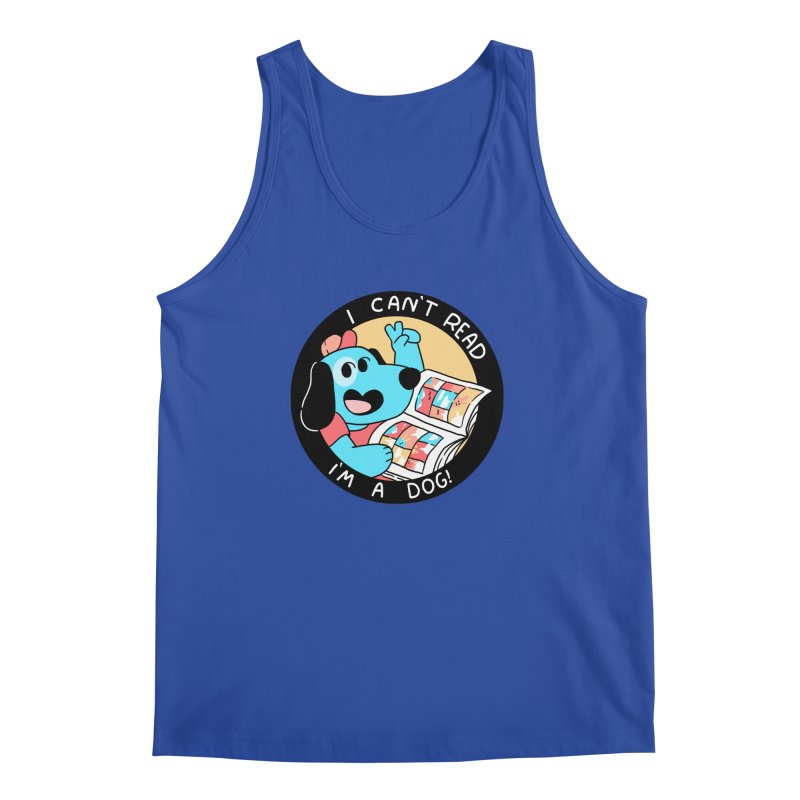 I CAN'T READ! Men's Regular Tank by GOOD AND NICE SHIRTS