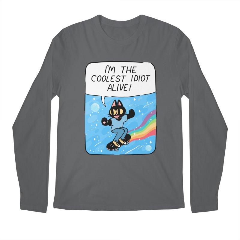 COOLEST IDIOT Men's Regular Longsleeve T-Shirt by GOOD AND NICE SHIRTS