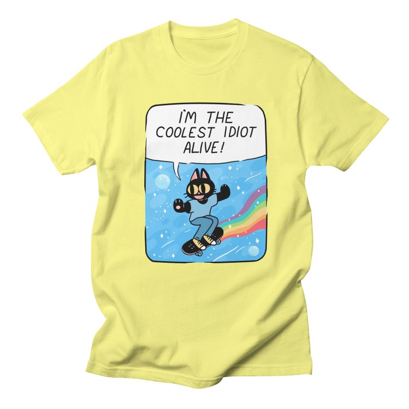 COOLEST IDIOT Men's Regular T-Shirt by GOOD AND NICE SHIRTS