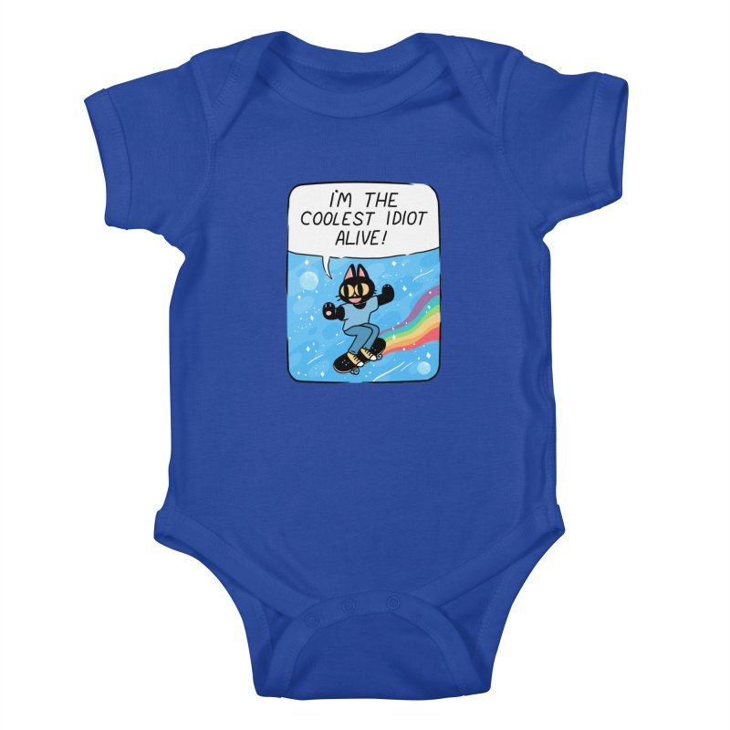 COOLEST IDIOT Kids Baby Bodysuit by GOOD AND NICE SHIRTS
