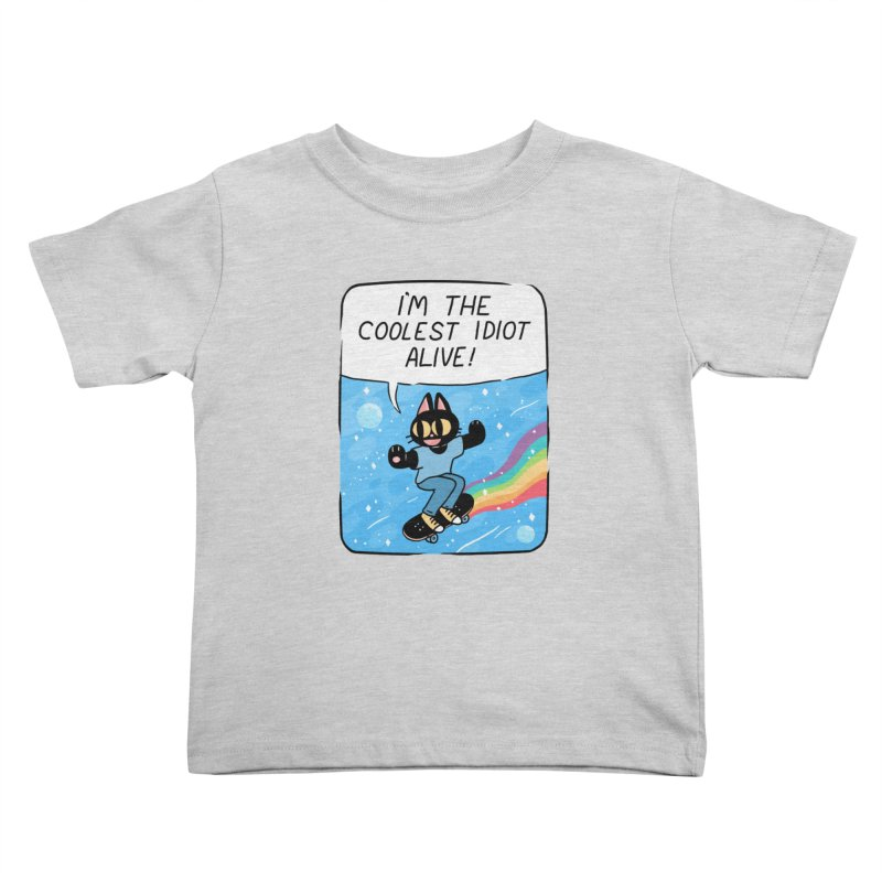 COOLEST IDIOT Kids Toddler T-Shirt by GOOD AND NICE SHIRTS