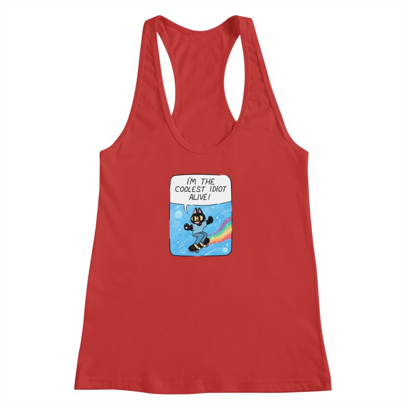 COOLEST IDIOT Women's Tank by GOOD AND NICE SHIRTS