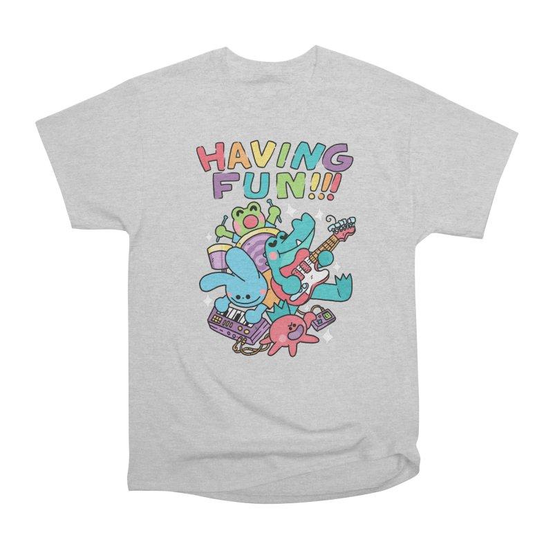 HAVING FUN Men's T-Shirt by GOOD AND NICE SHIRTS