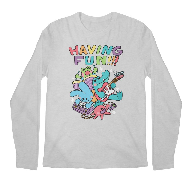 HAVING FUN Men's Regular Longsleeve T-Shirt by GOOD AND NICE SHIRTS