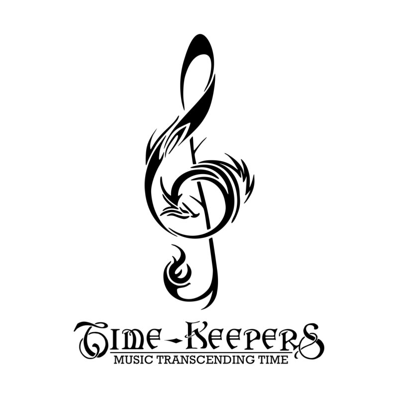 The Time-Keepers Logo/Slogan - Black by The Time-Keepers - Official Store