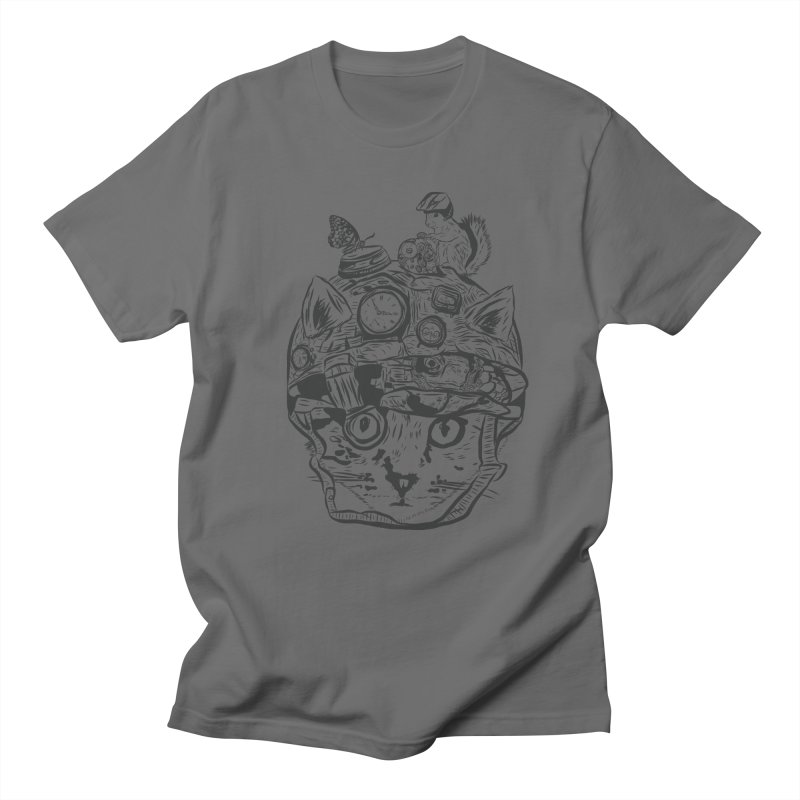 Make Your Own Time Machine Black and White Women's Regular Unisex T-Shirt by Time Machine Supplies