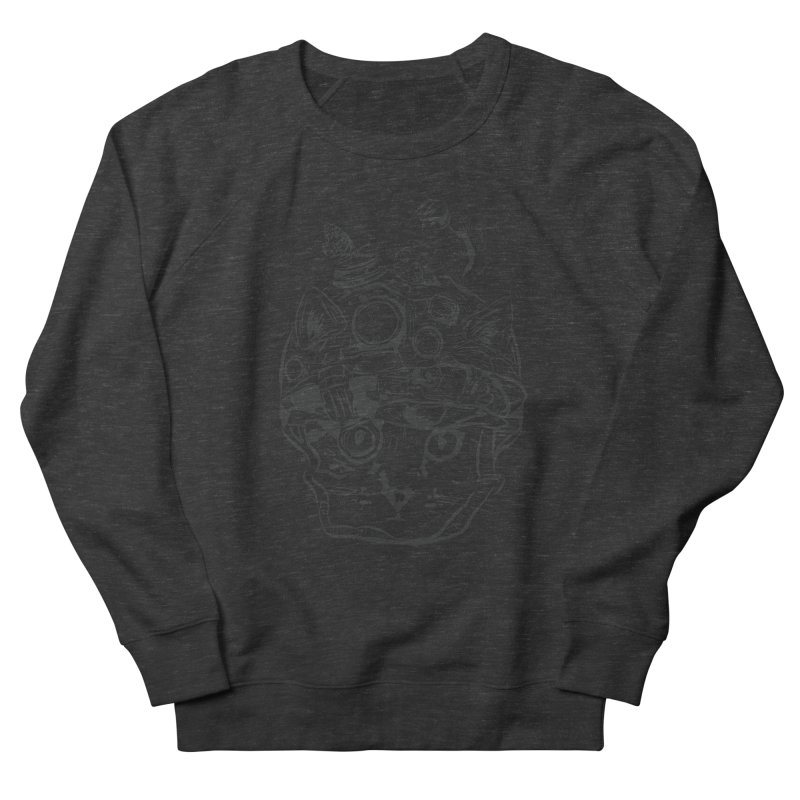 Make Your Own Time Machine Black and White Women's French Terry Sweatshirt by Time Machine Supplies