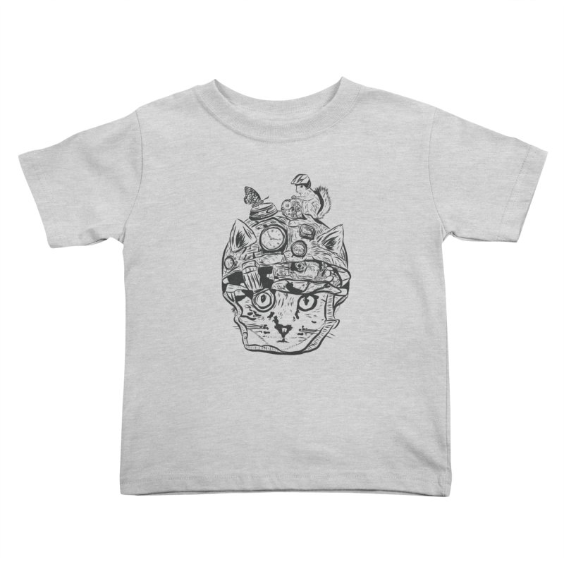 Make Your Own Time Machine Black and White Kids Toddler T-Shirt by Time Machine Supplies