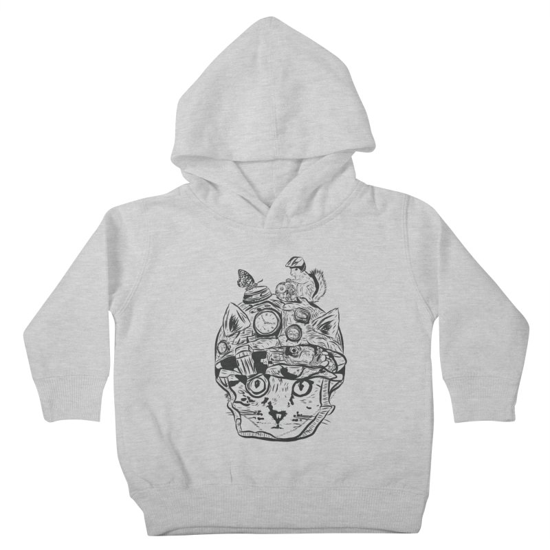 Make Your Own Time Machine Black and White Kids Toddler Pullover Hoody by Time Machine Supplies