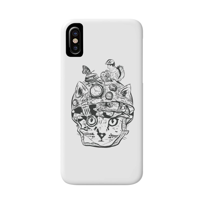 Make Your Own Time Machine Black and White Accessories Phone Case by Time Machine Supplies