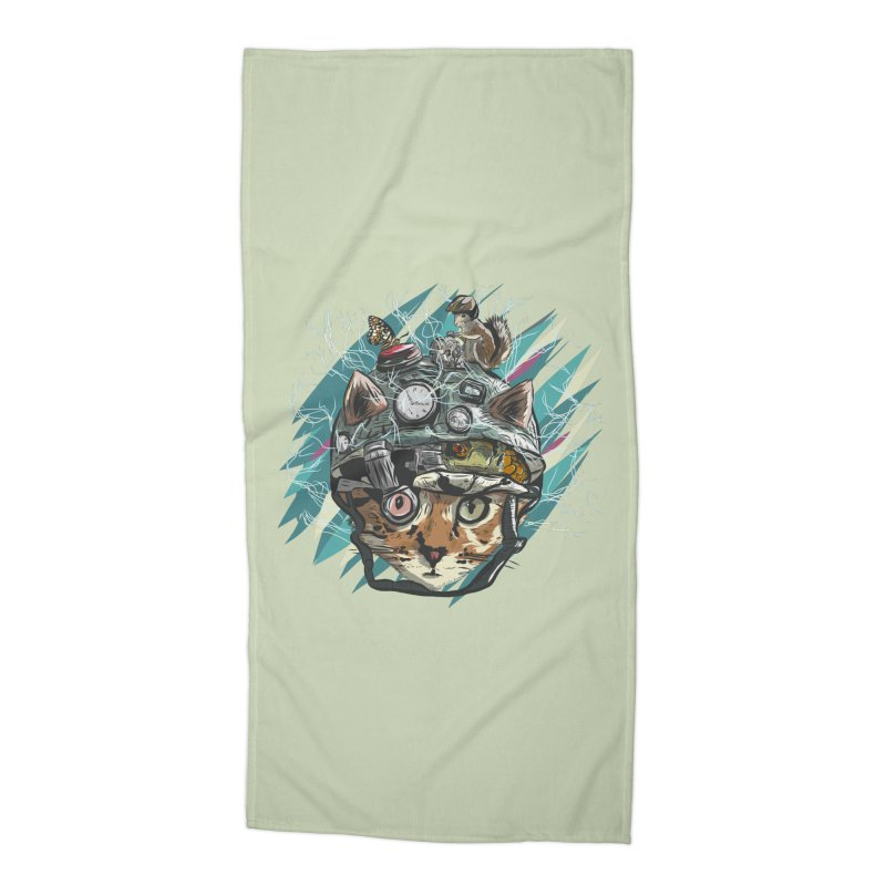 Make Your Own Time Machine Accessories Beach Towel by Time Machine Supplies