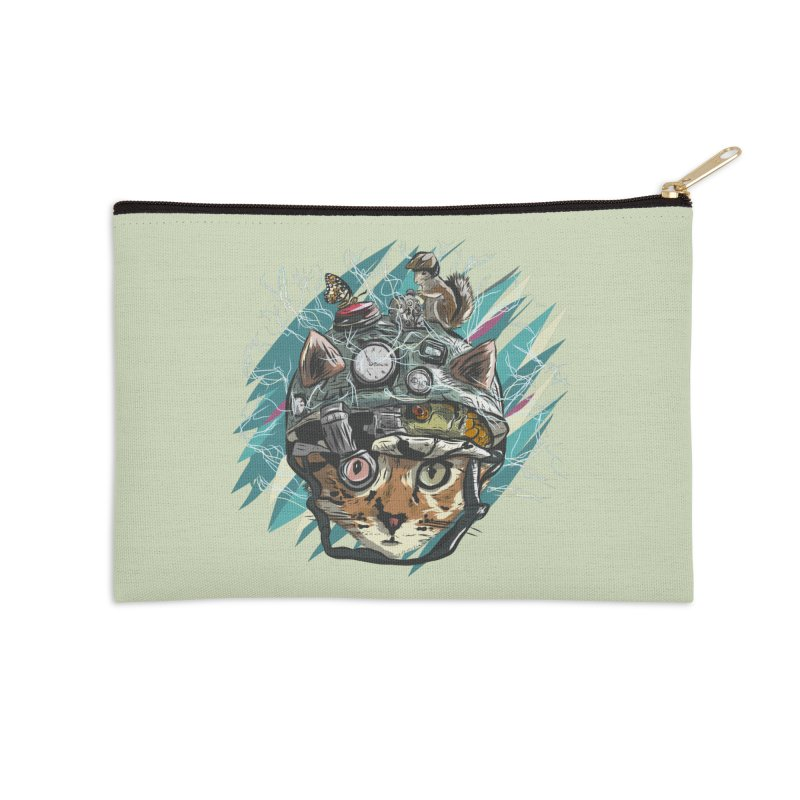 Make Your Own Time Machine Accessories Zip Pouch by Time Machine Supplies