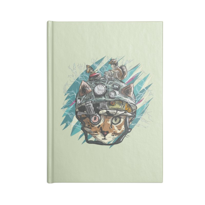 Make Your Own Time Machine Accessories Blank Journal Notebook by Time Machine Supplies