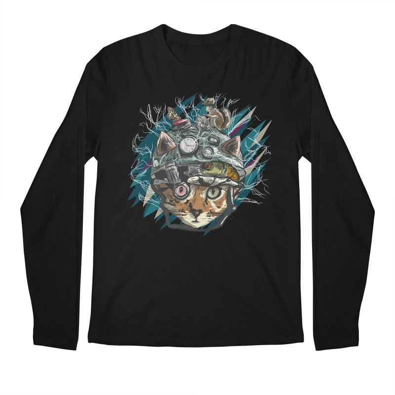Make Your Own Time Machine Men's Regular Longsleeve T-Shirt by Time Machine Supplies