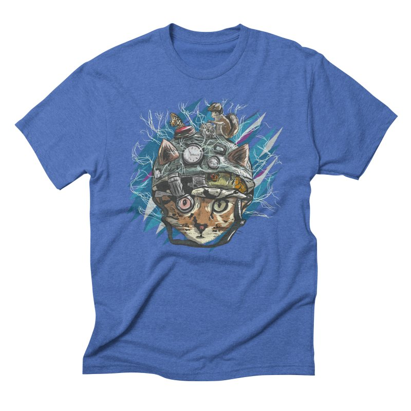 Make Your Own Time Machine Men's Triblend T-Shirt by Time Machine Supplies
