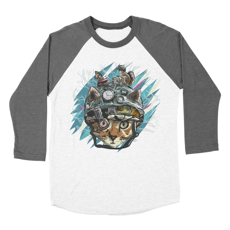 Make Your Own Time Machine Men's Baseball Triblend Longsleeve T-Shirt by Time Machine Supplies