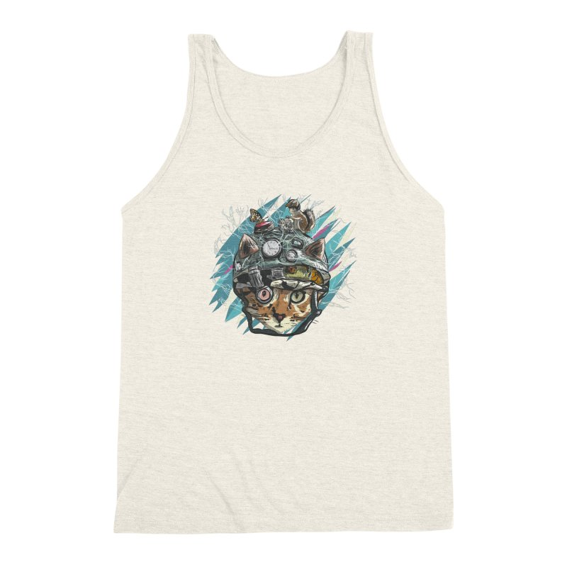 Make Your Own Time Machine Men's Triblend Tank by Time Machine Supplies