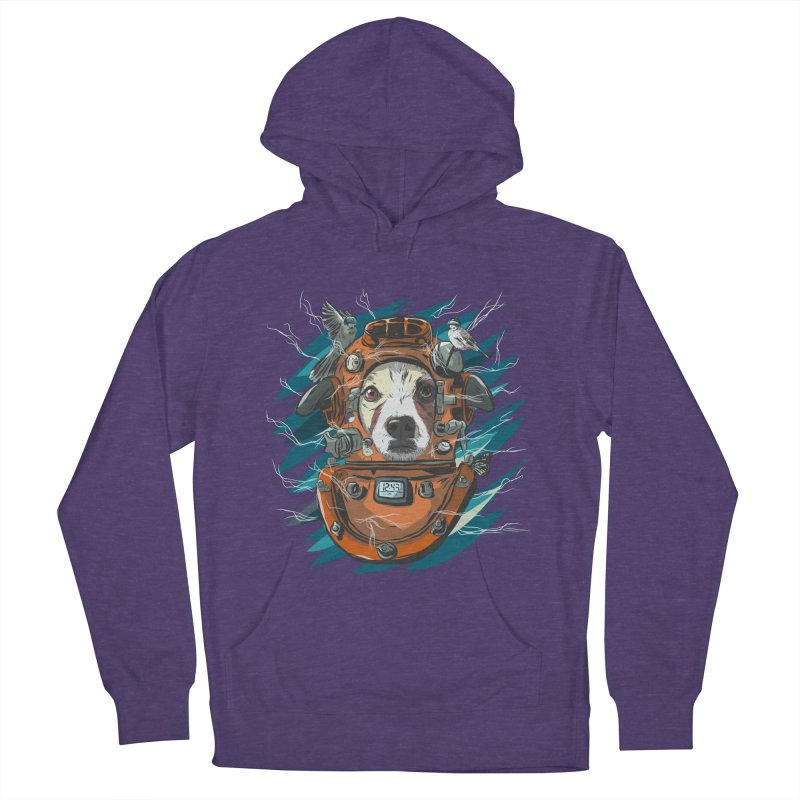 Homemade Time Machine Women's French Terry Pullover Hoody by Time Machine Supplies