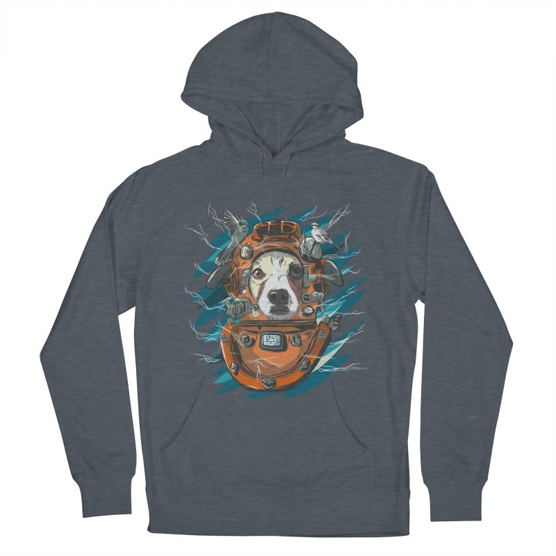 Homemade Time Machine Men's French Terry Pullover Hoody by Time Machine Supplies