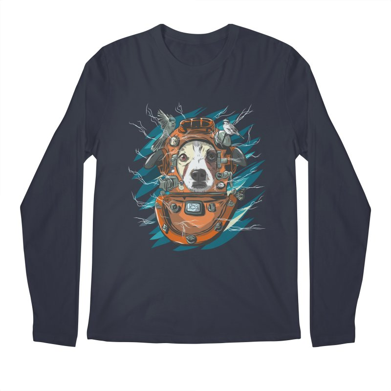 Homemade Time Machine Men's Regular Longsleeve T-Shirt by Time Machine Supplies