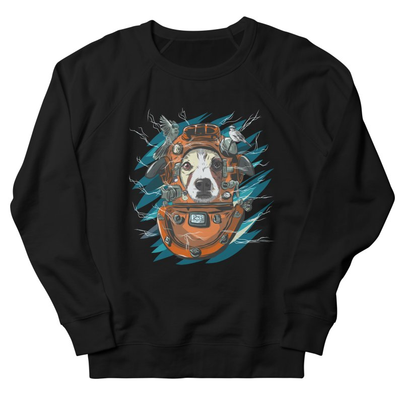 Homemade Time Machine Women's French Terry Sweatshirt by Time Machine Supplies