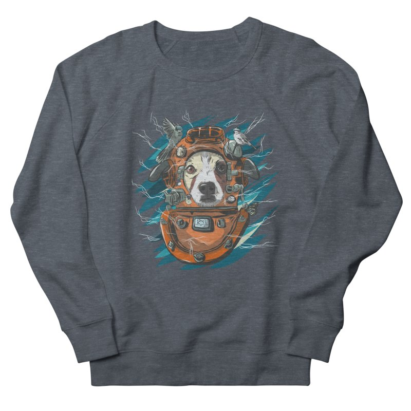 Homemade Time Machine Men's French Terry Sweatshirt by Time Machine Supplies