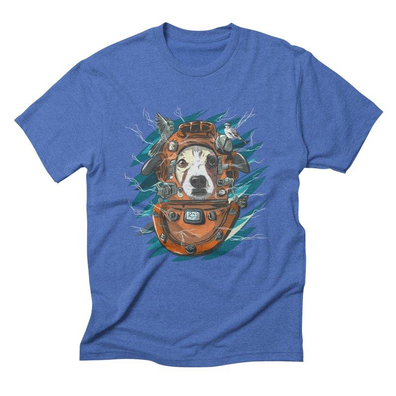 Homemade Time Machine Men's Triblend T-Shirt by Time Machine Supplies