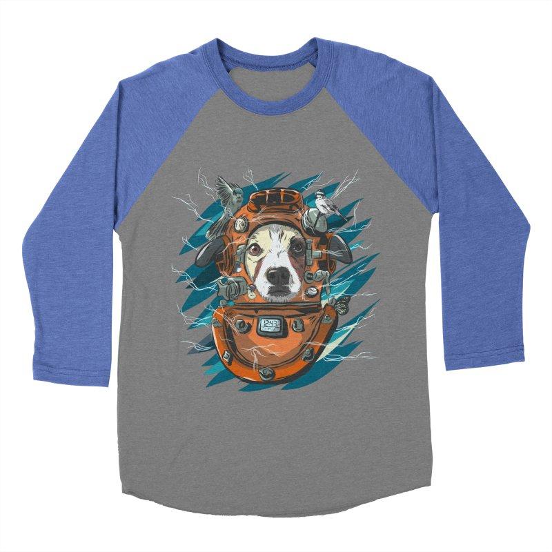 Homemade Time Machine Men's Baseball Triblend Longsleeve T-Shirt by Time Machine Supplies