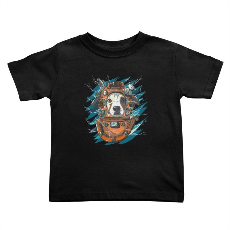 Homemade Time Machine Kids Toddler T-Shirt by Time Machine Supplies