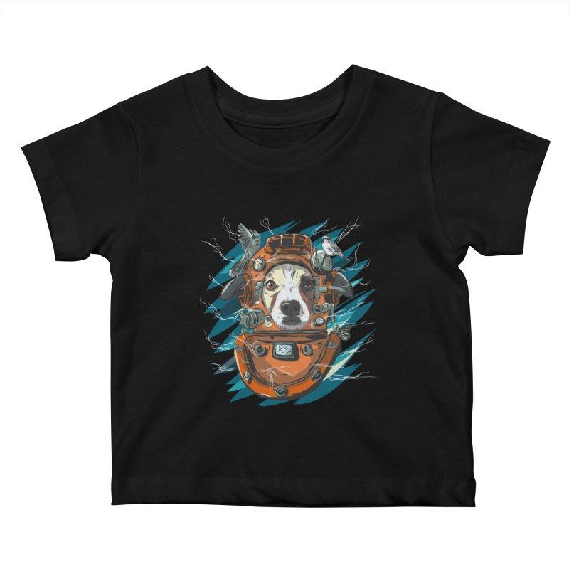 Homemade Time Machine Kids Baby T-Shirt by Time Machine Supplies