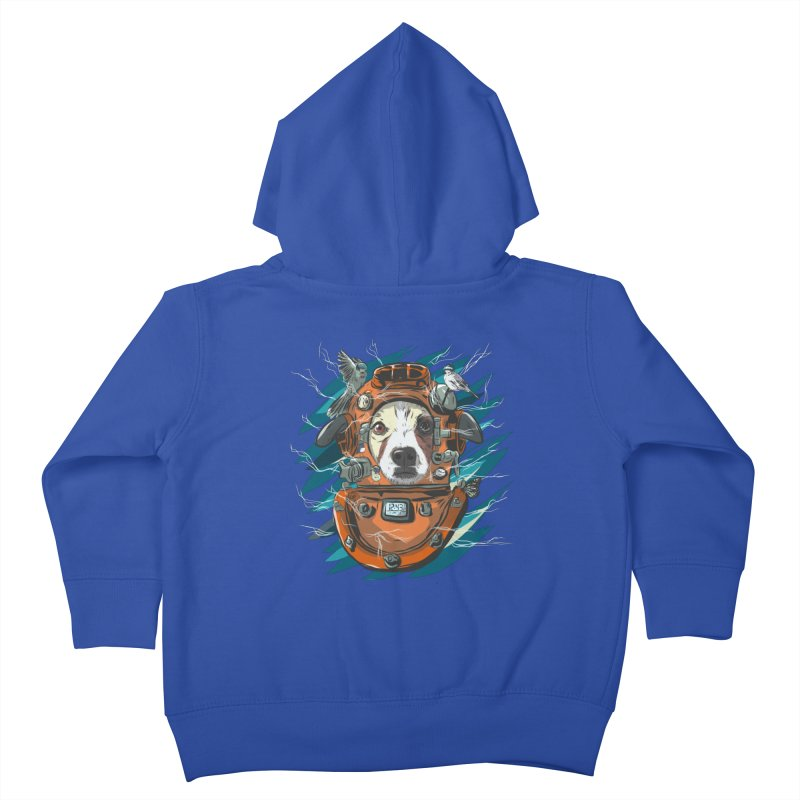 Homemade Time Machine Kids Toddler Zip-Up Hoody by Time Machine Supplies