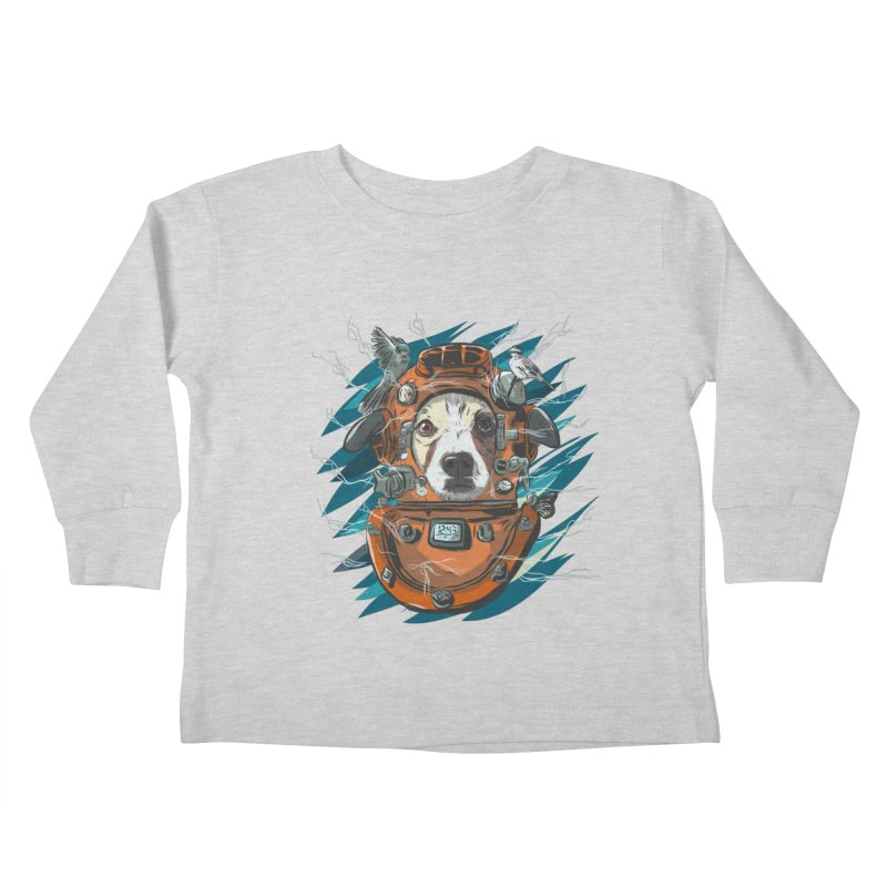 Homemade Time Machine Kids Toddler Longsleeve T-Shirt by Time Machine Supplies