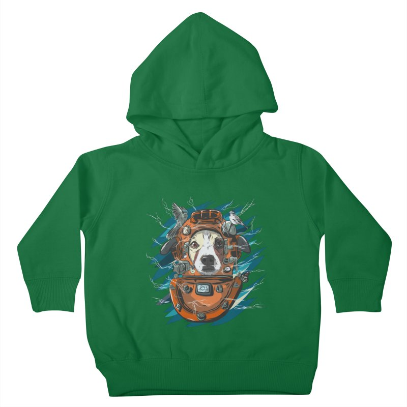 Homemade Time Machine Kids Toddler Pullover Hoody by Time Machine Supplies