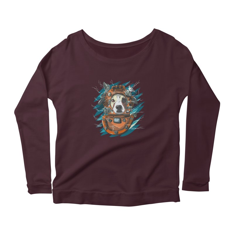 Homemade Time Machine Women's Scoop Neck Longsleeve T-Shirt by Time Machine Supplies