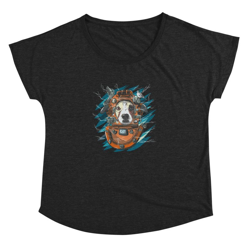 Homemade Time Machine Women's Dolman Scoop Neck by Time Machine Supplies