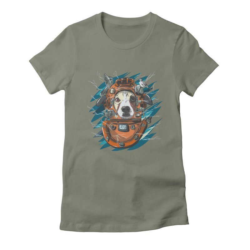 Homemade Time Machine Women's Fitted T-Shirt by Time Machine Supplies